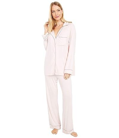 Barefoot Dreams Luxe Milk Jersey Pajama Set (Pink) Women