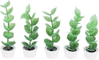 BOLORAMO Plante succulente de Maison de poupée, Meubles de Maison de poupée Exquis respectueux de l'environnement, créatif...