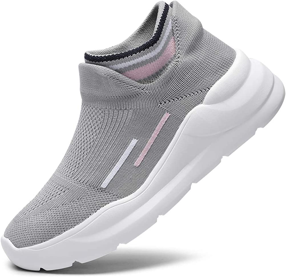 SANNAX Womens Running Shoes Fashion Casual Sneakers Walkingshoes Athletic Breathe Mesh Breathable Road Comfort Sport