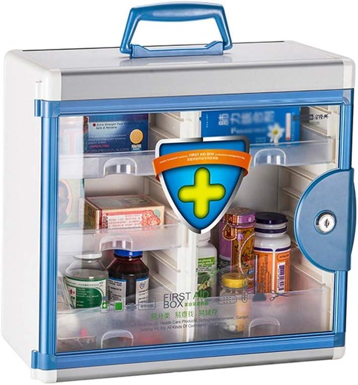 MXueei Max 54% OFF First Free shipping New Aid Box Wall Alumini Mounted Pharmacy Medical