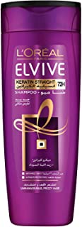 L'Oreal Paris Elvive Keratin Straight Shampoo 400ml