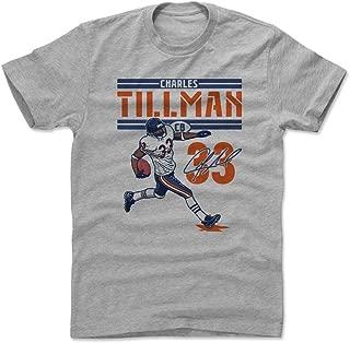 500 LEVEL Charles Tillman Shirt - Vintage Chicago Football Men's Apparel - Charles Tillman Play