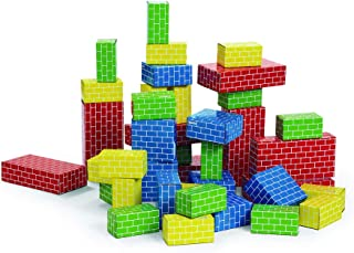 Excellerations Giant Building Bricks - 40 Pieces Classroom Activity for Young Learners