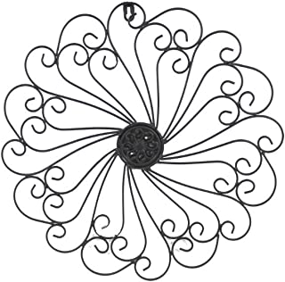 GetSet2Save FBA_COMINHKG068413 Iron Wall Medallion (Black) by, Approx. 16-1/8