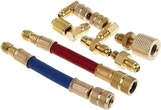 Ensemble de tuyaux d/'adaptateur de connecteur de réfrigération R134A R12