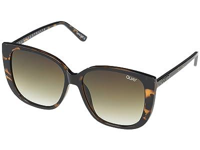QUAY AUSTRALIA Ever After (Tort/Smoke Taupe) Fashion Sunglasses
