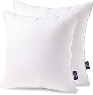 Phantoscope 20 x 20 Pillow Inserts - Throw Pillow Inserts with 100% Cotton Cover - Square Forms Pillow Sham Stuffer - Deco...