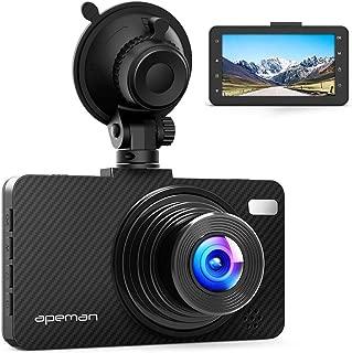 APEMAN Dash Cam Dashboard FHD 1080P Car Camera DVR Recorder with 3.0