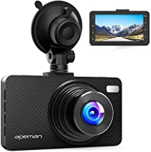 APEMAN Dash Cam FHD 1080P Car Camera with 3