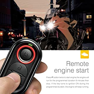 Star-Trade-Inc - Steelmate 986E 1 Way Motorcycle Alarm System Remote Engine Start Motorcycle Engine Immobilization with Mini Transmitter
