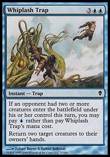 Magic The Gathering - Whiplash Trap (77) - Zendikar