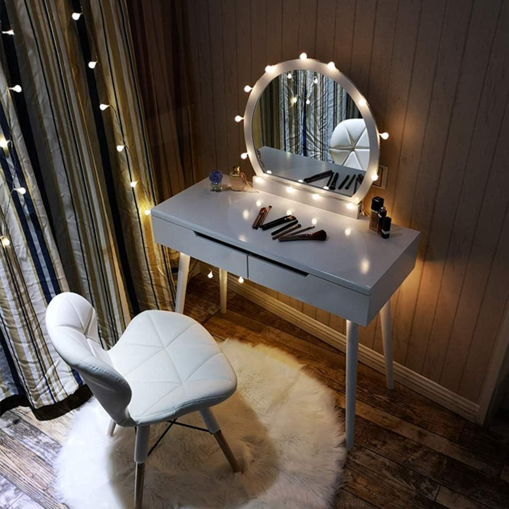 LHHL Chaise de Salle à Manger, Moderne Chaise, Cuir PU + Pieds en Hêtre Massif, pour Salle à Manger, Cuisine, Salon, Chambre à Coucher (Color : White) Black