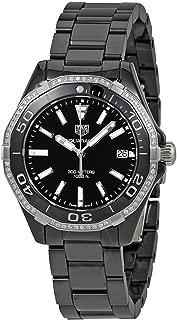 Tag Heuer Aquaracer Lady 300M 35mm Black Diamond Ceramic Watch WAY1395.BH0716