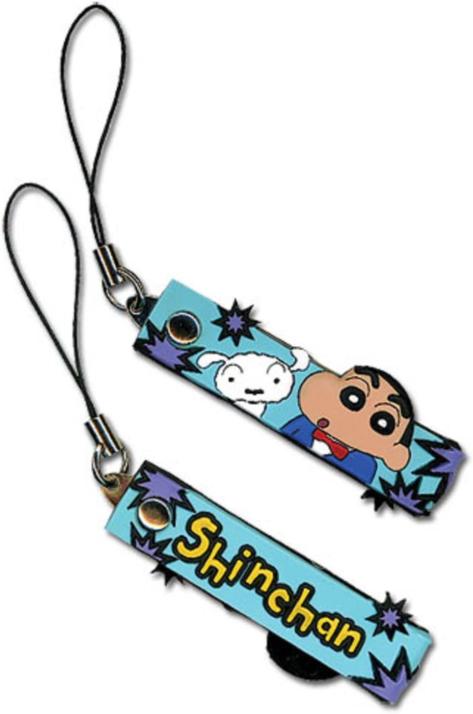 Crayon Challenge the lowest price Shin-chan: Max 55% OFF Shin Whitey Phone Strap Cell Charm