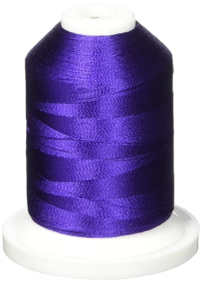 Robison-Anton Rayon Super Strength Thread, 1100-Yard, Purple Accent