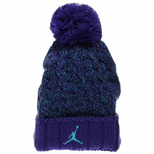 d8a010766468 Jordan Adult Jumpman Cable Pom Beanie Hat