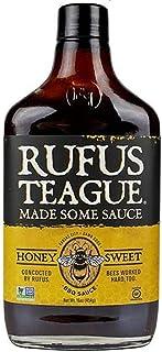 Rufus Honey Sweet BBQ Sauce, 454 g (95229)