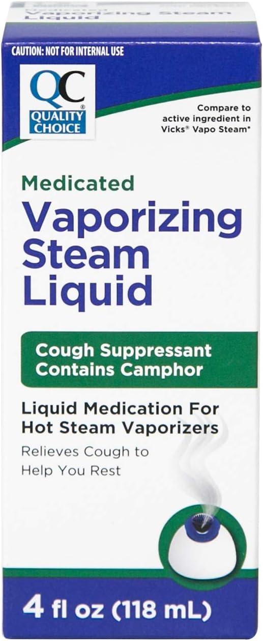Quality セール 登場から人気沸騰 Choice Medicated Vaporizing Steam Liquid Ounces Each 4 新作アイテム毎日更新