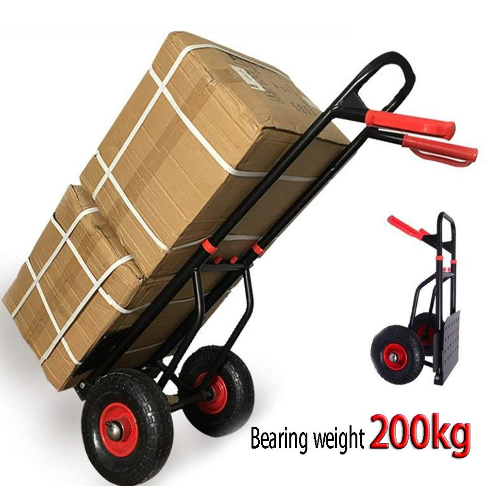 Heavy Duty Folding Truck Hand Sack Trolley Barrow Cart Platform Truck 40KG