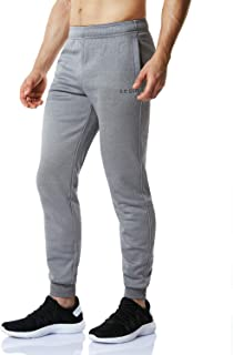 Fleece Tapered Pants Training Active Jogger Thermal Sweat Bottom