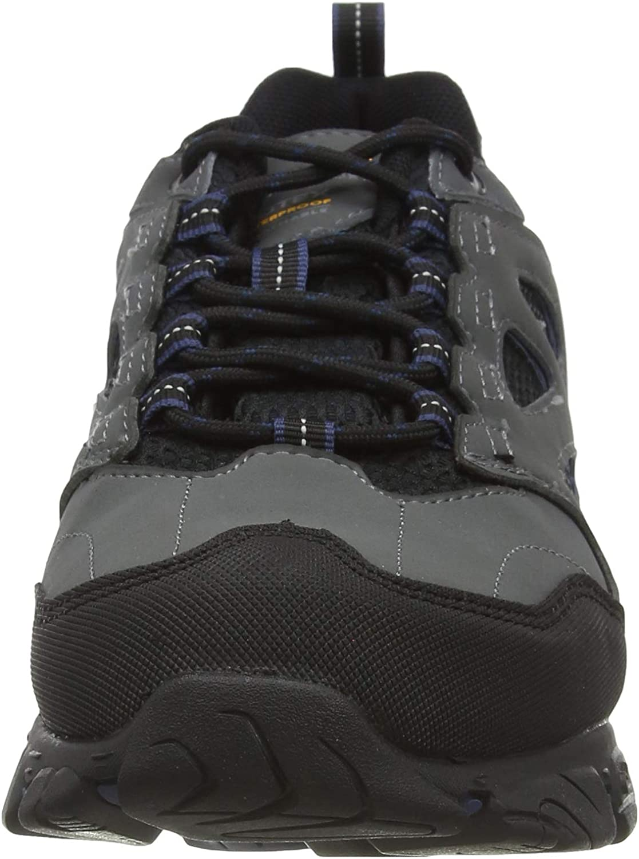 Zapatillas para Caminar Hombre Regatta Holcombe Iep Low Waterproof Breathable Rubber Toe Double Eyelet Walking Shoes
