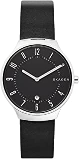Skagen Unisex Dial Leather Band Watch - SKW6459