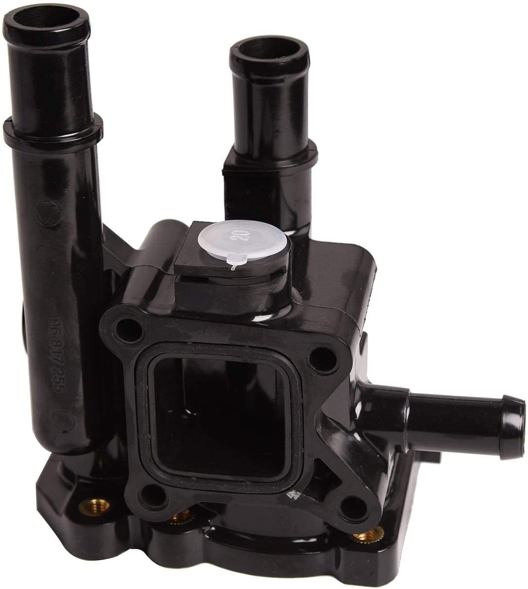 Engine Coolant Thermostat Housing Assembly Max 81% OFF Chevr with Compatible Max 77% OFF