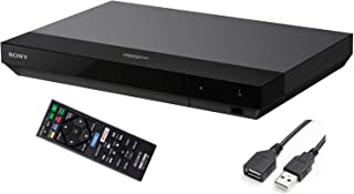 Sony Streaming 4K Ultra HD Blu-ray Player Hi-Res Audio Dolby Atmos Wi-Fi Built-in Dolby Vision BRAVIA Theater Sync Miracas...