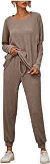 JXQ-N Women's Winter Fashion Solid Color Full Sleeve Casual Suit(JX2012211089)