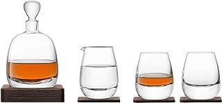 LSA Whisky-Set Karaffe und Glas, Islay 1220-00-301, in Nussbaum-G