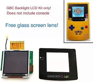 RGRS Nintendo Game Boy Color Backlight Mod Kit with Glass Screen Lens