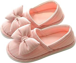 Pantofola di Lino,Pantofole antiscivolo suola sottile traspirante con suola sottile per donne in gravidanza,Ciabatte sanit...
