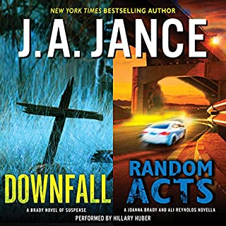 Downfall + Random Acts audiobook cover art