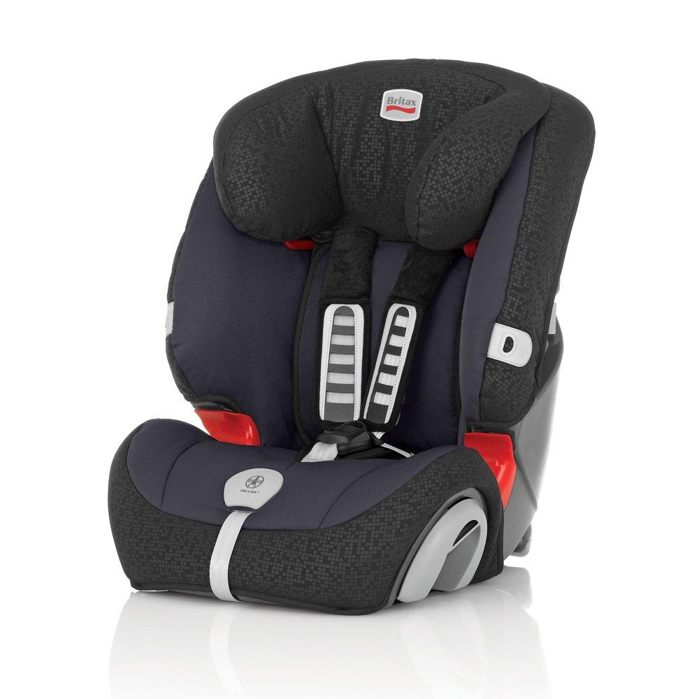 Britax R/ömer Kindersitz 9 Monate 12 Jahre I 9-36 kg I EVOLVA 123 Autositz Gruppe 1//2//3 I Cosmos Black