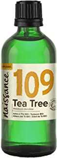 comprar comparacion Naissance Aceite Esencial de Árbol de Té BIO n. º 109 – 100ml - 100% Puro, vegano, certificado ecológico y no OGM