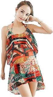 水着 レディース 体型カバー タンキニ ビキニ セパレート ショートパンツ 短パン 3点セット 小胸 かわいい パッド付き バスト 盛れる ママ angelababy