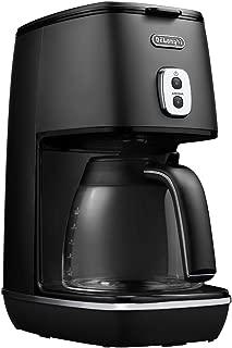 デロンギ ドリップコーヒーメーカー ディスティンタコレクション 6杯 チタンコートフィルター エレガンスブラック ICMI011J-BK
