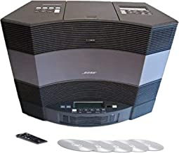 Bose Acoustic Wave Music System and 5-CD Multi Disc Changer II - Graphite Grey (Black)