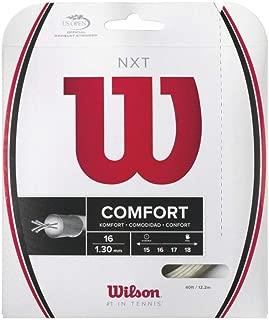 Wilson NXT 16 Gauge Multifilament Tennis String in Multi-Packs (2-4-6-8-Packs)