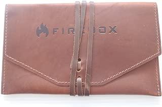 FIREBOX (ファイヤーボックス) レザーケース ブラウン 純正 専用 収納袋 (5インチ ウッドストーブ用)【日本正規品】
