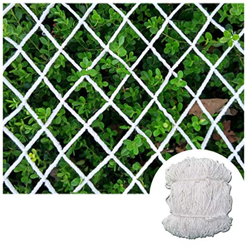 STTHOME Child Safety Net Protection Climbing Frames Mesh Netting for Windows/Plants Climbing Rope Netting for Yard/Playground Net Decoration for Party White 6mm/5cm Multi-size (Size : 7x8m)