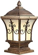 Outdoor Column Headlight Waterproof Pillar Lamp Fence Wall Sconce Exterior Landscape Lighting Fixture Lawn Pillar Lamp For...
