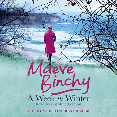 A Week in Winter                   By:                                                                                                                                 Maeve Binchy                               Narrated by:                                                                                                                                 Caroline Lennon                      Length: 11 hrs and 34 mins     21 ratings     Overall 4.1