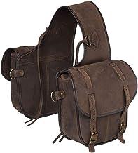 Jt International Distributors Soft LTH T1 Saddle Bag Brown