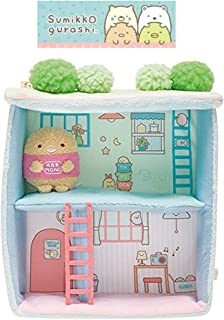 Stationery San-x Sumikko Gurashi Scene Plush Doll Toy Doll House : 2 Story House with Garden Terrace