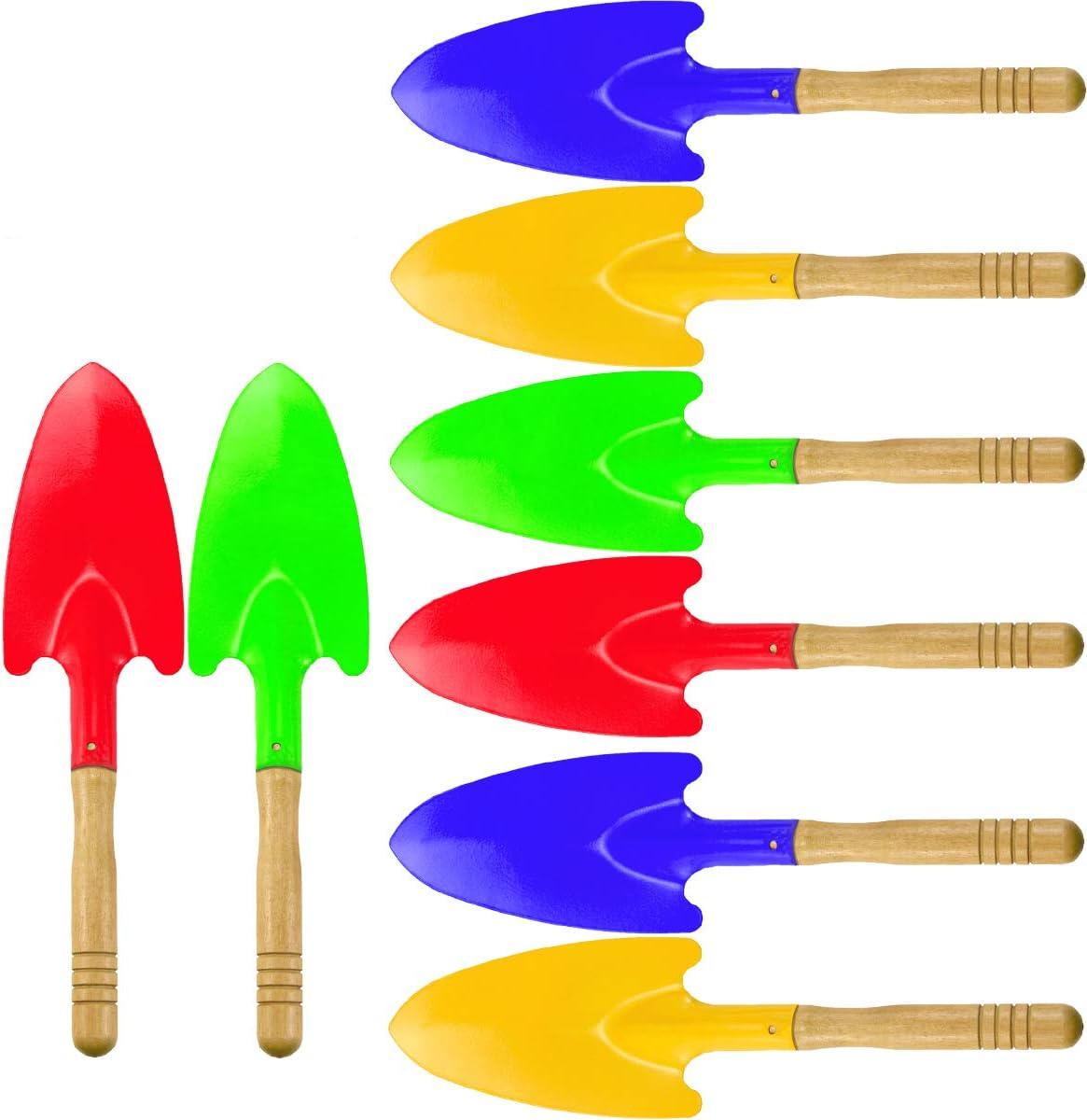 Hslife 8 Pieces 11'' Max 85% OFF Toy Shovels Fresno Mall Kids Tools W Shovel Garden Mini