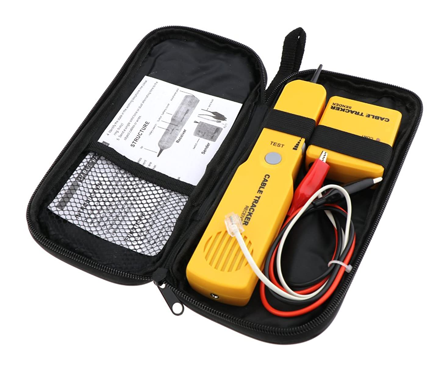 Cable Finder Tone Generator Probe Tracer Wire Tracker Network Tester kit