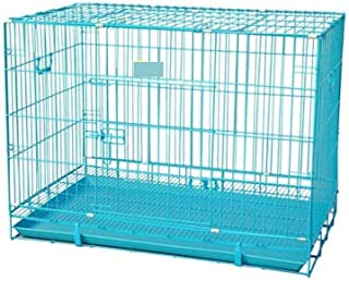 RvPaws 36-inch Metal Dog Cage (Blue, Large)