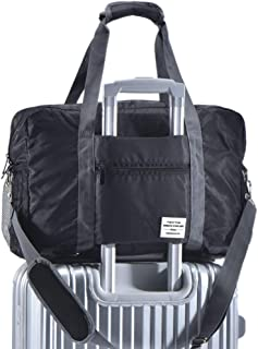 tote bag with luggage slide over