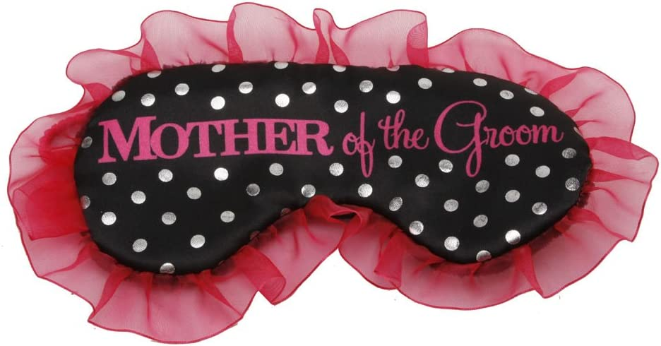 CELEBRATIONS Mother of The Super beauty product restock quality top! Store Groom Mask Satin Dotty Eye